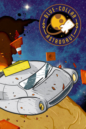 Cover for Blue-Collar Astronaut.