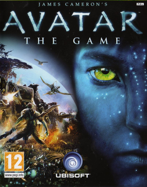 Cover for James Cameron's Avatar: The Game.
