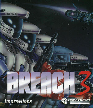 Cover for Breach 3.