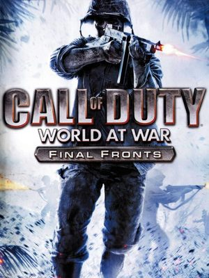 Cover for Call of Duty: World at War – Final Fronts.