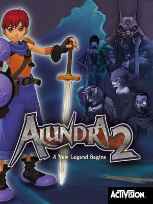 Cover for Alundra 2: A New Legend Begins.