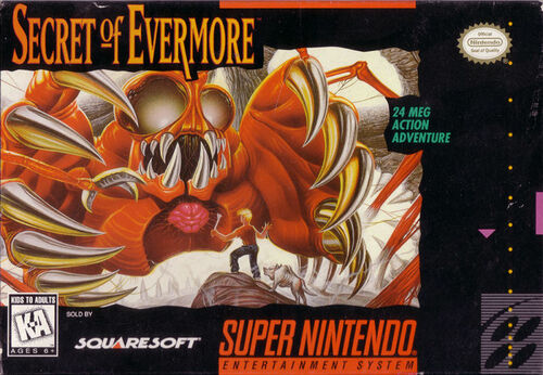 Cover for Secret of Evermore.