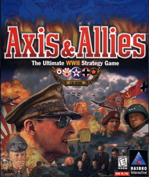 Cover for Axis & Allies.