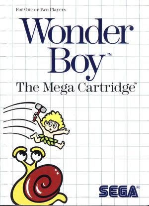 Cover for Wonder Boy.