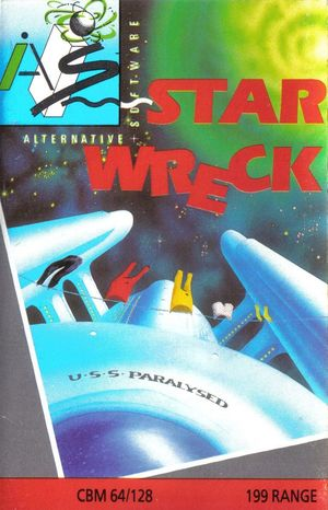 Cover for Star Wreck.