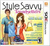 Cover for Style Savvy: Trendsetters.