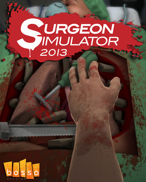 Cover for Surgeon Simulator 2013.
