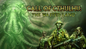 Cover for Call of Cthulhu: The Wasted Land.