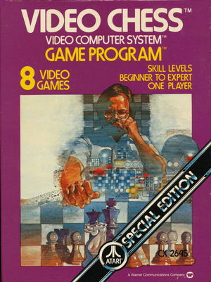 Cover for Video Chess.