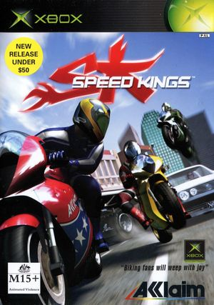 Cover for Speed Kings.