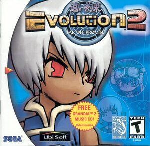 Cover for Evolution 2: Far Off Promise.