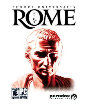 Cover for Europa Universalis: Rome.