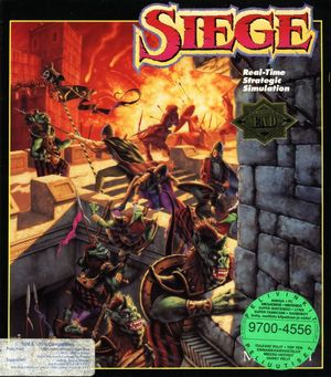 Cover for Siege.