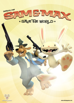 Cover for Sam & Max Save the World.