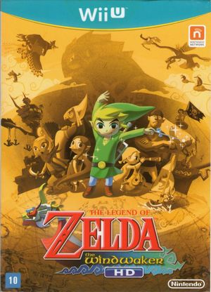 Cover for The Legend of Zelda: The Wind Waker HD.