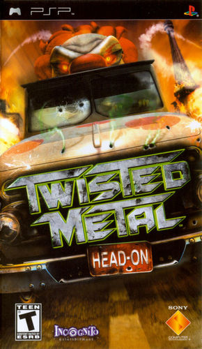 Cover for Twisted Metal: Head-On.