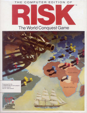 Cover for Risk: The World Conquest Game.