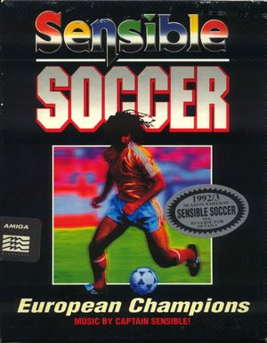 Cover for Sensible Soccer.