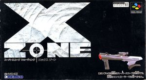 Cover for X-Zone.