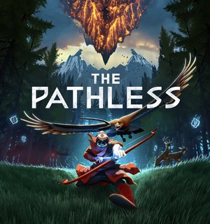 Cover for The Pathless.
