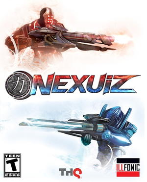 Cover for Nexuiz.