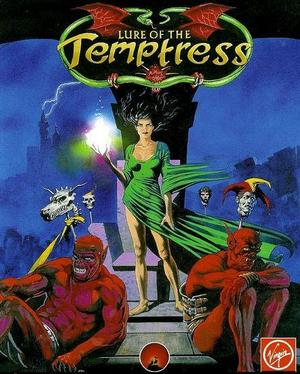Cover for Lure of the Temptress.