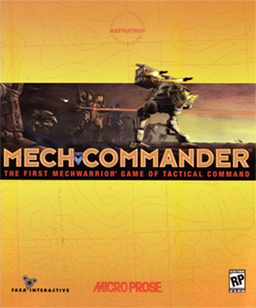 Cover for MechCommander.