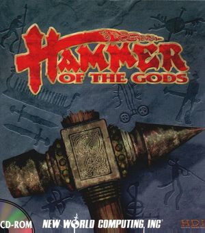 Cover for Hammer of the Gods.