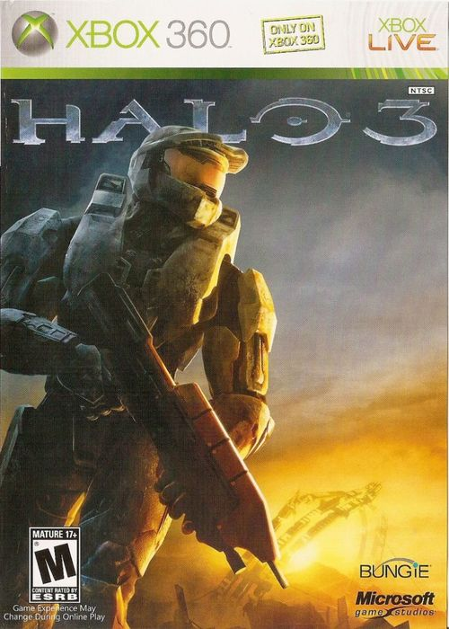 Cover for Halo 3.