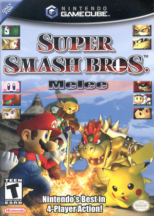 Cover for Super Smash Bros. Melee.
