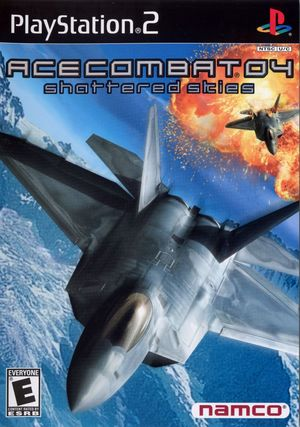 Cover for Ace Combat 04: Shattered Skies.
