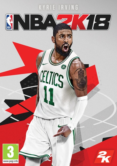 Cover for NBA 2K18.
