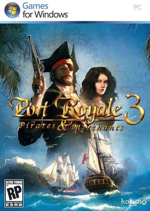 Cover for Port Royale 3: Pirates & Merchants.
