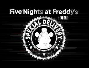 Cover for Five Nights at Freddy's AR: Special Delivery.