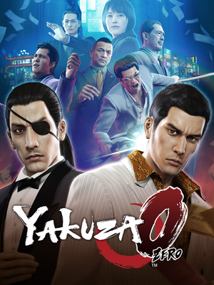 Cover for Yakuza 0.