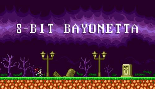 Cover for 8-Bit Bayonetta.