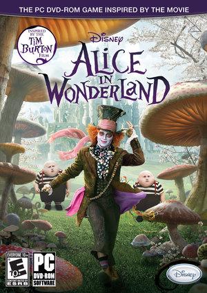 Cover for Alice in Wonderland.