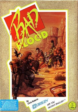 Cover for Bad Blood.