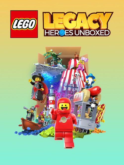 Cover for Lego Legacy: Heroes Unboxed.