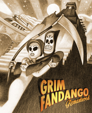 Cover for Grim Fandango Remastered.