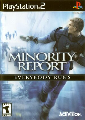 Cover for Minority Report: Everybody Runs.