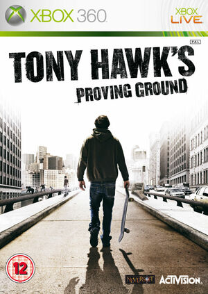 Cover for Tony Hawk's Proving Ground.
