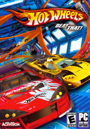 Cover for Hot Wheels: Beat That!.