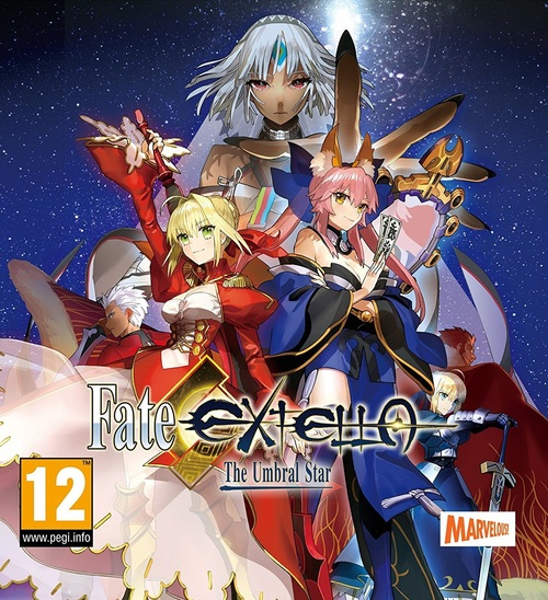 Cover for Fate/Extella: The Umbral Star.