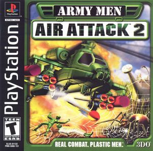 Cover for Army Men: Air Attack 2.