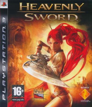 Cover for Heavenly Sword.