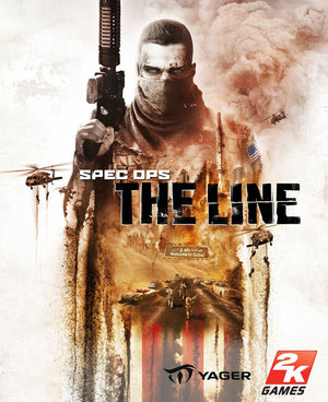 Cover for Spec Ops: The Line.
