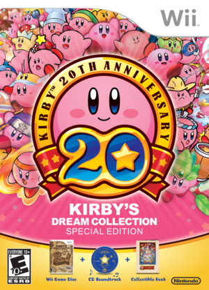 Cover for Kirby's Dream Collection: Special Edition.