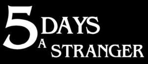 Cover for 5 Days a Stranger.