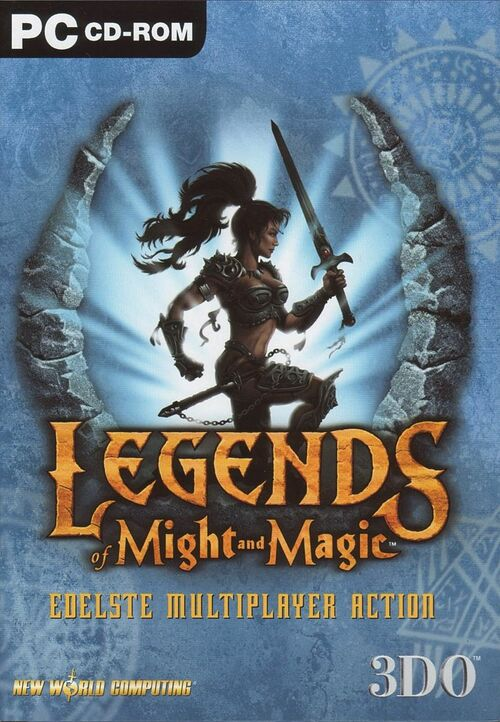 Cover for Legends of Might and Magic.